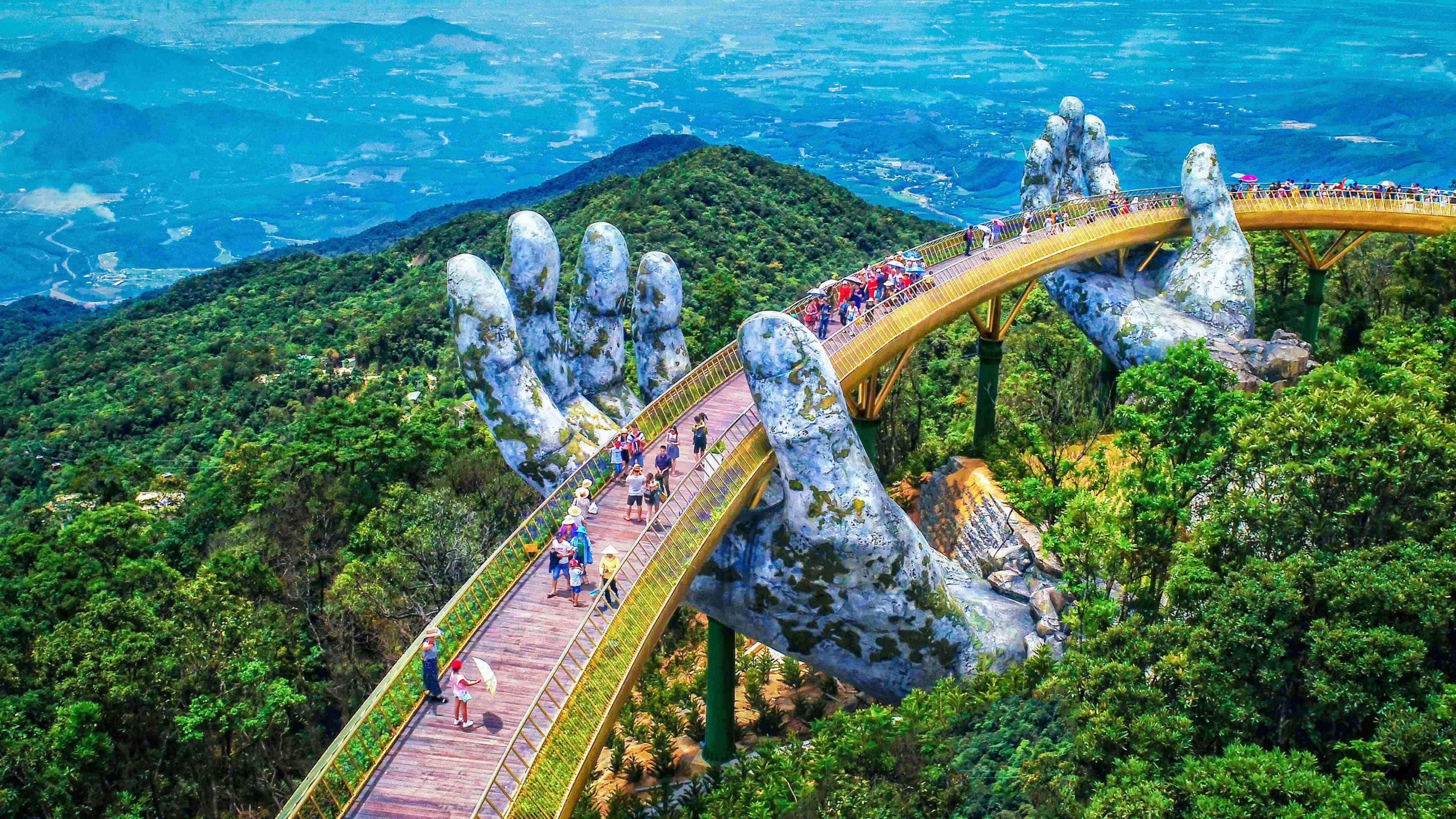 cầu vàng nổi tiếng thế giới