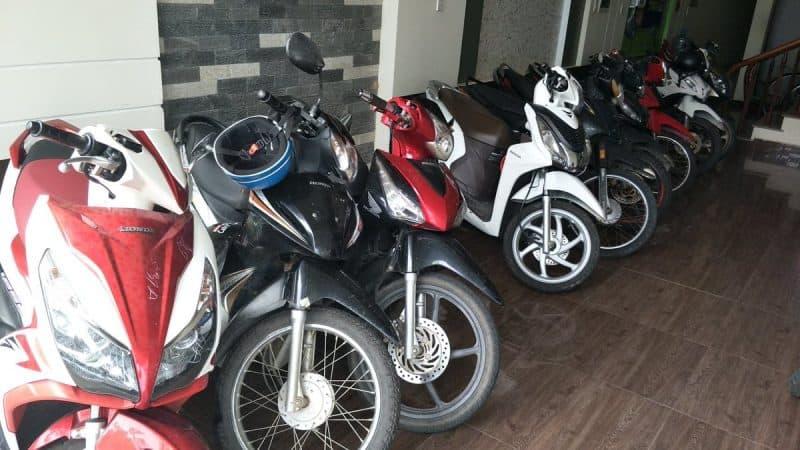 Thuê xe máy Đà Nẵng quận Thanh Khê