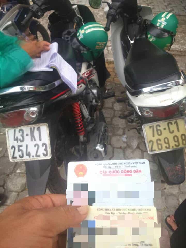 Thuê xe máy Đà Nẵng cần gì?