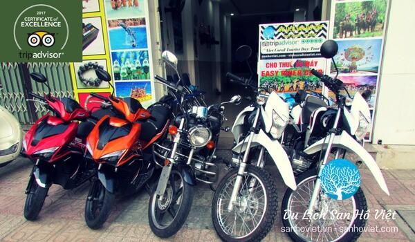 Thue xe may Nha Trang 01 - Sướng tê 5+ điểm thuê xe máy Nha Trang khiến bạn si mê